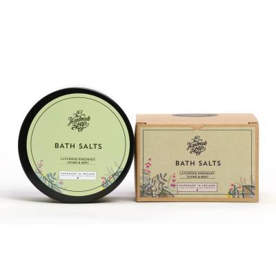 The Handmade Soap Co. - Bath Salt - Badesalz - Lavender, Rosemary, Thyme & Mint